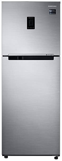Samsung 324L 3 Star Inverter Frost Free Double Door Refrigerator RT34T4513S8